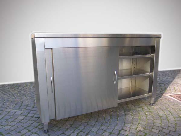 Outdoor-Möbel aus Edelstahl für Terrasse - Mancabelli ...