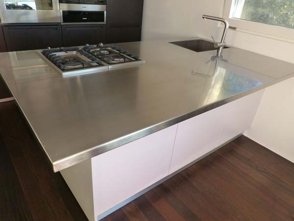 Piano cucina inox - Mancabelli | Craft and Design