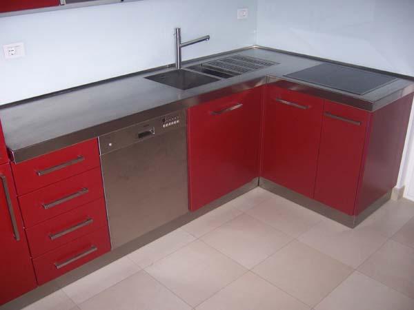 Piano cucina inox mancabelli craft and design - Cucina in acciaio inox ...