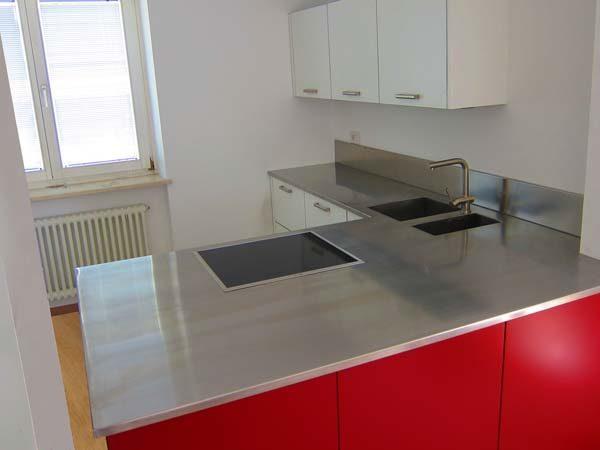 piano cucina in acciaio inox2