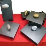 scatola in ferro naturale con pomolo in pietra3