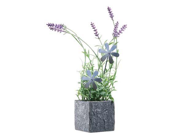 decorazione giardino a fiore in acciaio inox1