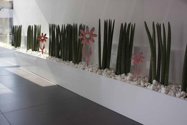 decorazioni giardino in corten margherita