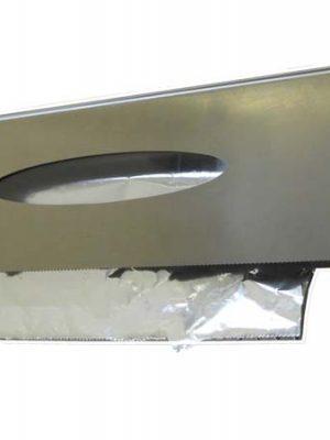 dispenser porta pellicole in acciaio inox