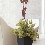 ornamenti-decorazioni giardino con stelo in corten1