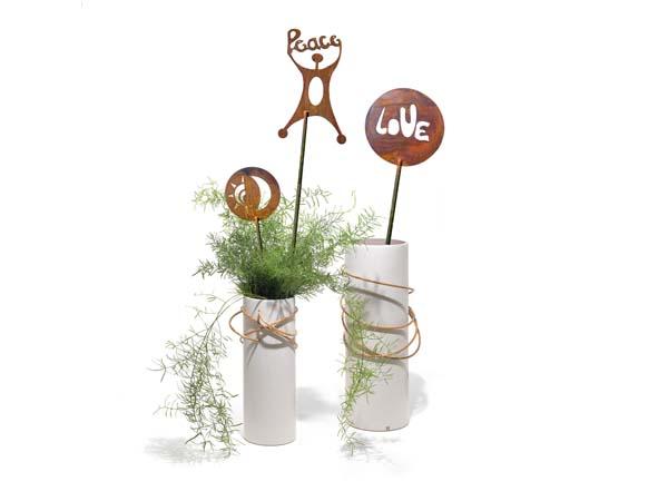 Decorazioni giardino a cerchio mancabelli craft and design for Decorazioni giardino
