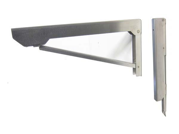 Mensole acciaio per cucina stunning cucine con for Ikea mensole acciaio