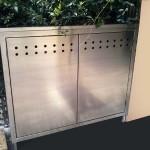 armadio in acciaio inox contatore acqua e gas areato1