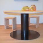 base tonda in ferro per tavolo1