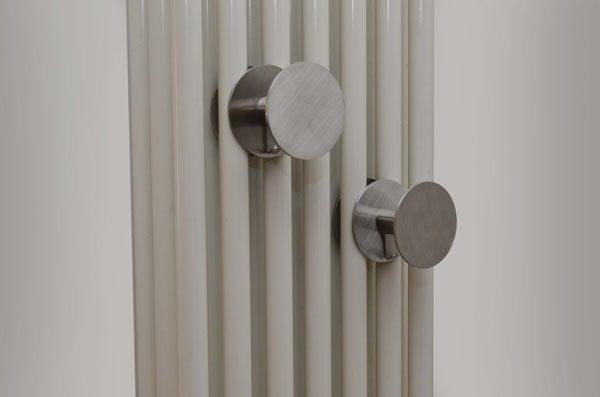 appendiabiti da termosifone in acciaio inox o scaldasalviette