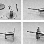 appendiabiti da termosifone in acciaio inox o scaldasalviette 2